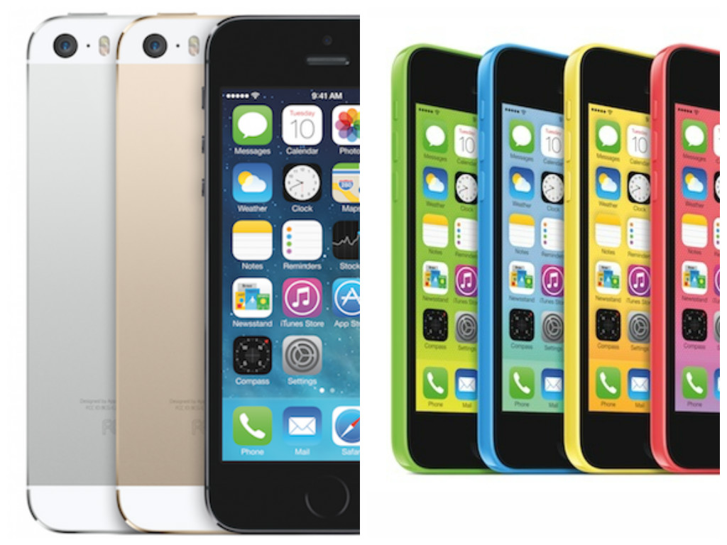First Look: New Apple 5S And 5C Phone Models+ Gold iPhone ...