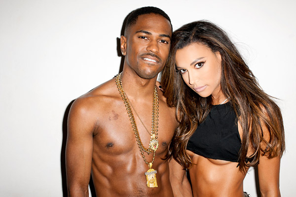 Hot shots big sean and girlfriend naya rivera strip down in new photo
