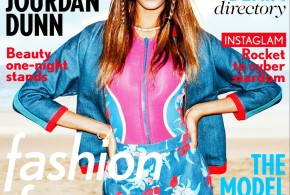 UK BOMBSHELL JOURDAN DUNN FOR MISS VOGUE APRIL ISSUE