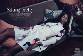 FACE THE FACTS: ICONIC SUPERMODEL NAOMI CAMPBELL FOR VOGUE AUSTRALIA