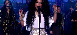 Watch: Kelis Brings Her 'Jerk Ribs' To 'Late Show with Dave Letterman'
