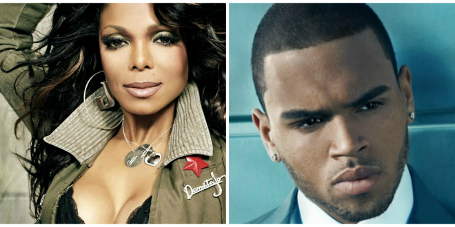MAJOR Rumor: Janet Jackson To Team Up with Chris Brown For New Record?