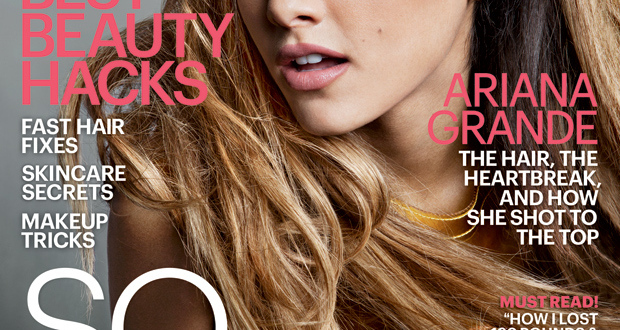 YOURS TRULY: ARIANA GRANDE TALKS MUSIC, AMBITION AND BIG SEAN FOR MARIE CLAIRE MAGAZINE