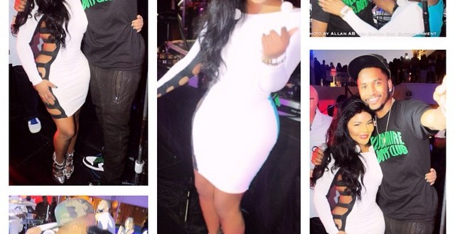 Ladies & The Drinks: Trey Songz Hits The Club & Parties It Up with Lil Kim