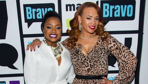 Phaedra Parks Talks Amicably Divorcing Apollo & Faith Evans Talks Collaborating w/ Lil Kim & More at 'WWHL' [Video]