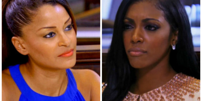 "Clapback: Porsha Williams On Claudia Jordan–"" Thirsty 41 Year Old Has-Been"""