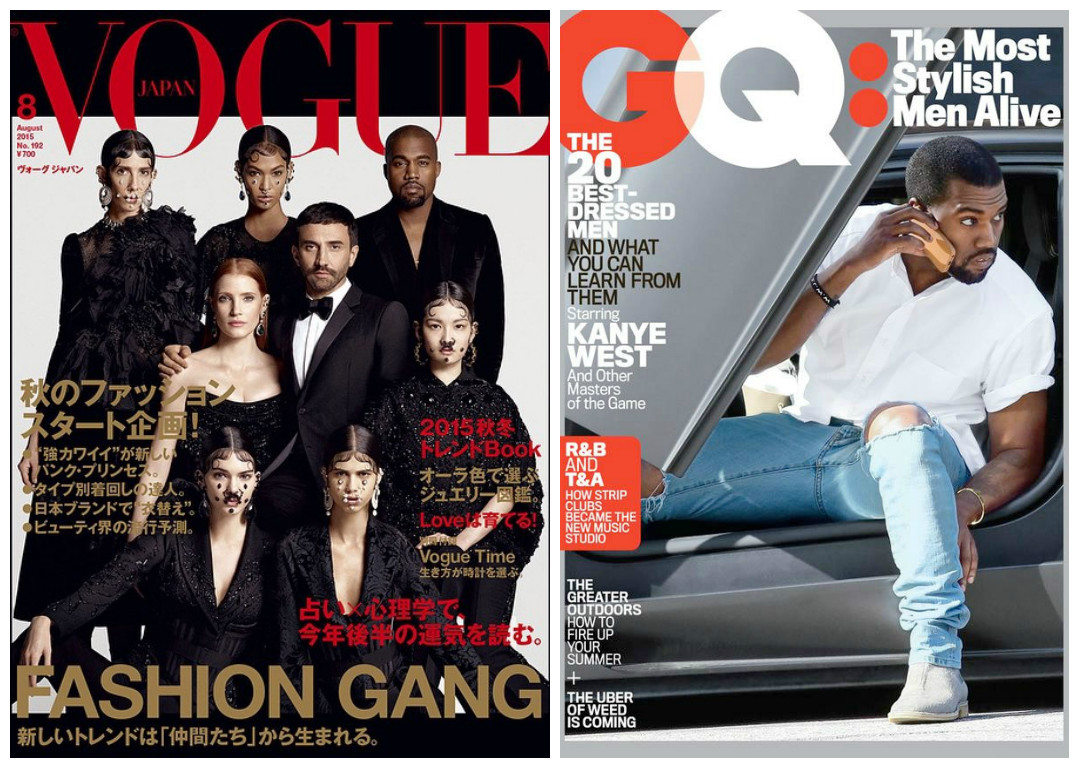 2019 year for lady- Japan vogue august givenchy gang