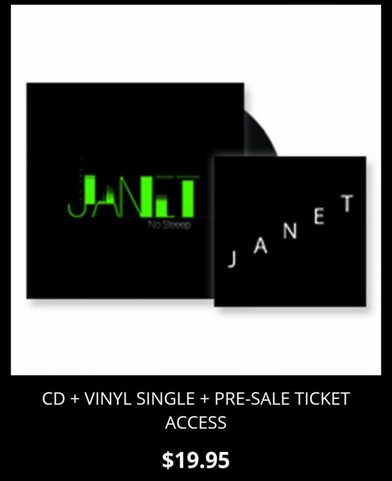 Janet Jackson - No Sleeep