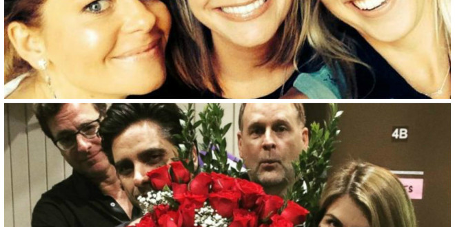 'Full House' Reboot 'Fuller House' Has Begun Taping & The Gang Is All Back Together Again [Photos]