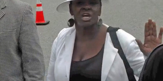 """Video: Leolah Brown Kicked Out Bobbi Kristina's Funeral, Tells Pat Houston """"Whitney Is Going To Haunt You From The Grave""""+Program Snaps Unveiled"""