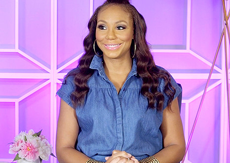 "Watch: Tamar Braxton Throws Slight Shade To Claudia Jordan, Joseline Hernandez, Ariana Grande & K. Michelle? in a Round of ""Name Game"" w/ US Magazine"