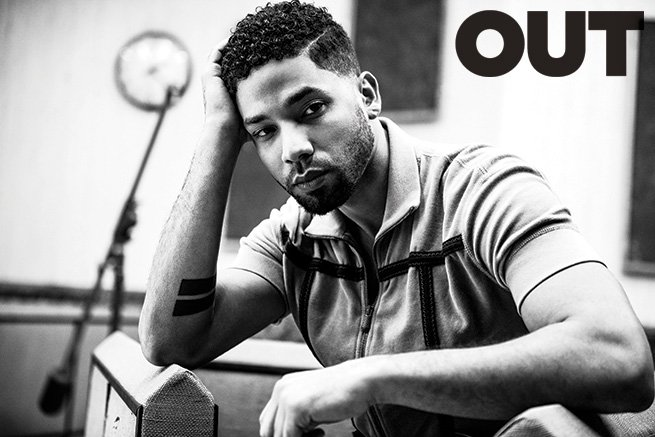 Jussie Smollett Talks Sexuality, Possibly Falling In Love with a Woman, Racial Issues & More in 'OUT' [Photos]