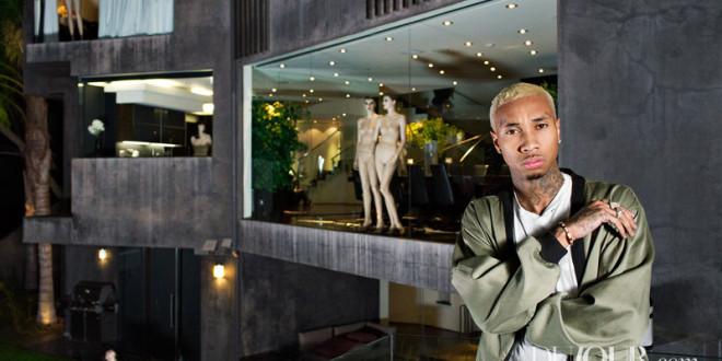 Tyga Goes Blonde & Poses Alongside Mannequin's, Talks Kanye West, Privacy & More For Dujour,