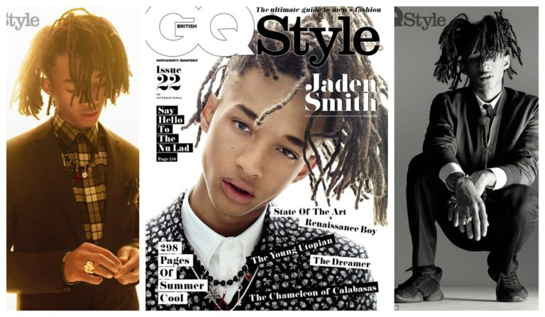 "Jaden Smith Opens Up on Gender Divides ""I Just See Scared People & Comfortable People"", Hanging w/ The Kardashians & More For British QB [Photos]"