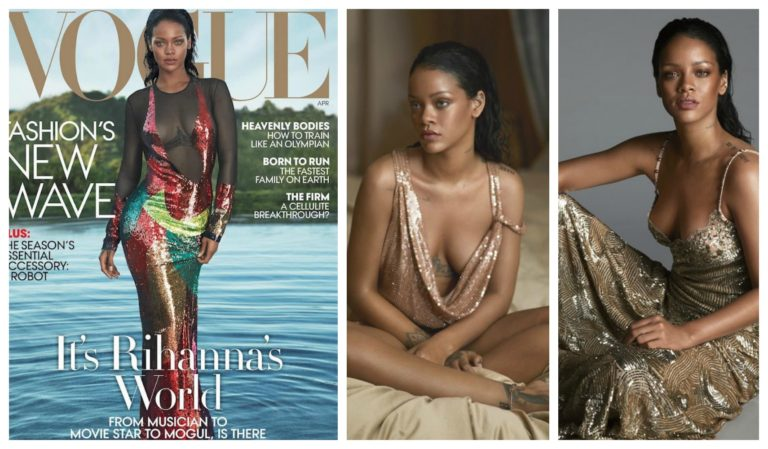 Rihanna Opens Up on Fans Pitting Her Against Beyonce, ANTI's Long Delay, Owning The Rights To Her Music & More for 'Vogue' April 2016 Issue