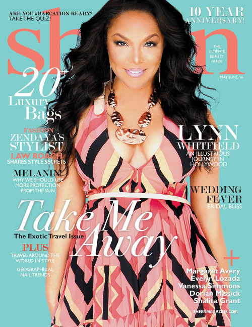 Hot Shot: 62 Year Old Lynn Whitfield Graces 'Sheen' Magazine & Looks Ageless Doing It