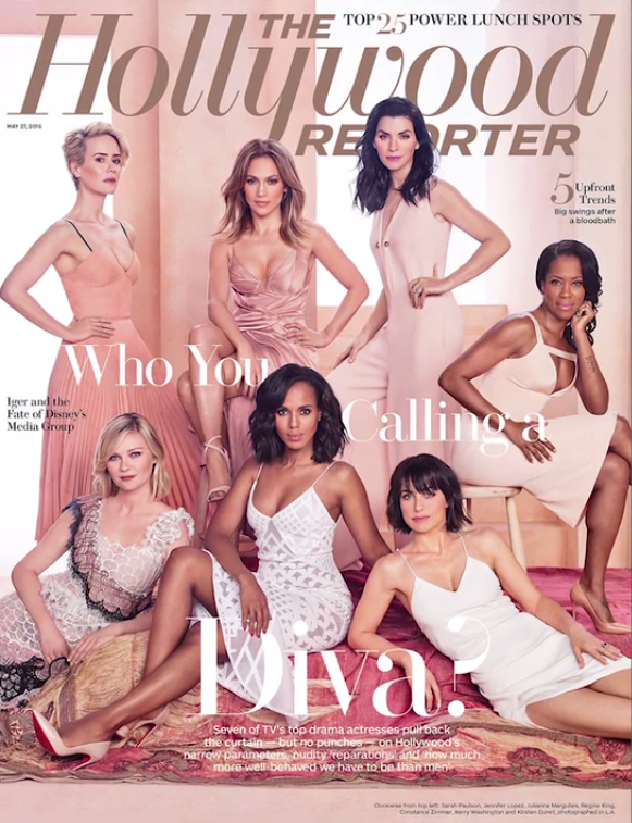Hot Shots: Kerry Washington, Jennifer Lopez, Regina King & Other Leading Ladies Cover 'Hollywood Reporter'