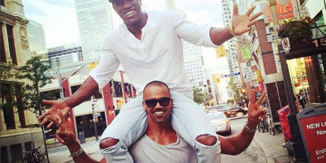 Shemar Moore Claps Back at Homophobic Haters Over Recent Photo