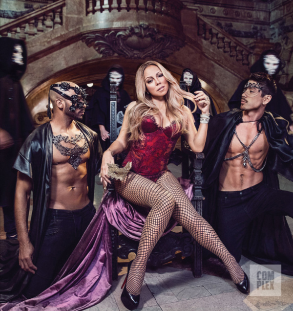 Hot Shots: Mariah Carey Strips Down For 'Complex' Magazine, Talks New Docuseries, Throws Slight Kardashian Shade