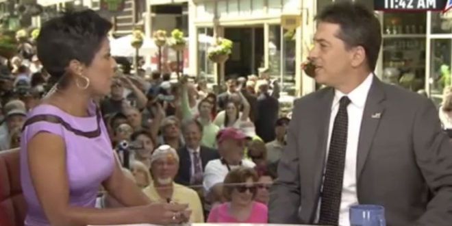Tamron Hall Gets Trump Supporter Scott Baio Together Over Nasty Hillary Clinton, Michelle Obama Tweets [Video]