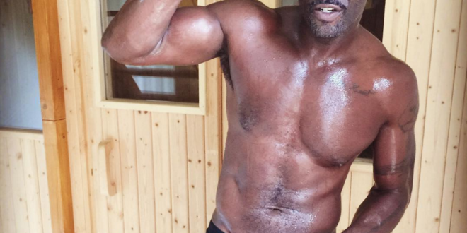 Idris Elba Will Have You Swooning Over His New Sweaty Post Workout, Boxer Brief Snap [Photo/Video]