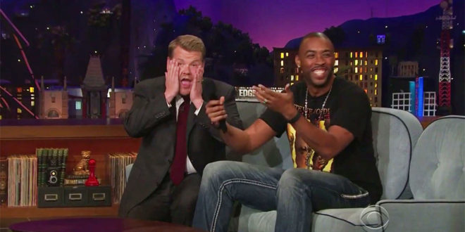 """Hilarious: Montell Jordan Surprises James Corden w/ Birthday Performance of """"This Is How We Do It"""" & Turns The House Up"""