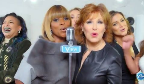 Watch: Mary J. Blige Helps 'The View' Kick Off Season 20 with Hot New Diane Warren Penned Theme Song/Music Video