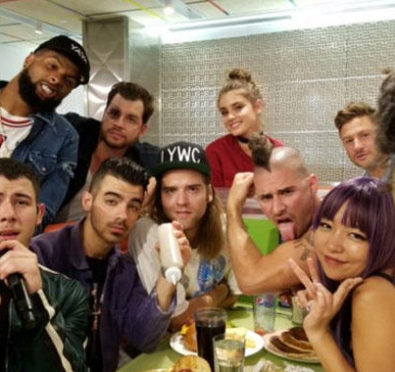 Watch: Nick Jonas & Ty Dolla Sign Perform 'Bacon' Live From a Diner w/ Joanne The Scammer, Odell Beckham, Remy Ma, Fabolous & More at MTV VMA's
