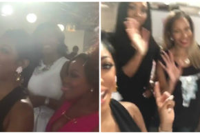 'Real Housewives of Atlanta' Cast Including Newcomer Lena Chenier, Spotted Filming Season 9 During Product Pop Up Shop