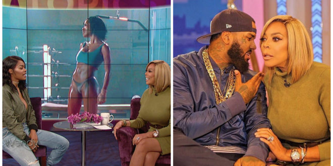 "Messy: The Game Dishes On Meek Mill Feud, Says He's Not Backing Down, Insinuates He Slept w/ Blac Chyna, Kim & Khloe Kardshian+Teyana Taylor Dishes on ""Fade"" Success & More at 'Wendy' [Video]"