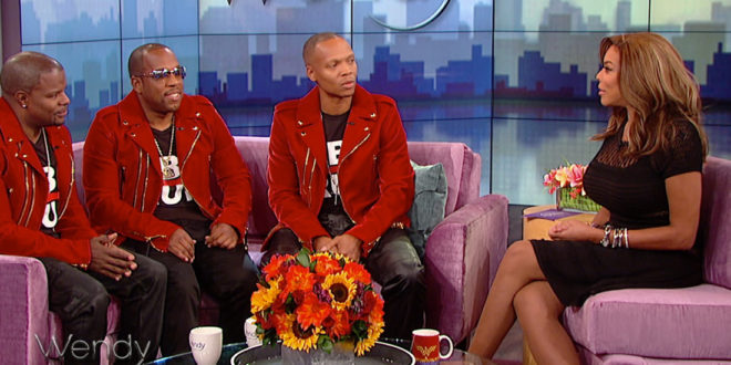 """So Here For It: Bell Biv Devoe Dish on New Edition Biopic, Relationship w/ Bobby Brown, Johnny Gill, Ralph Tresvant+Perform """"Poison"""" & New Single [Video]"""