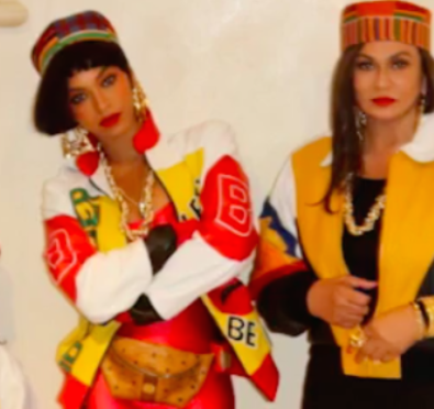 So Here For It: Beyoncé, Tina Lawson & Blue Ivy Rocked Salt N Pepa Inspired Halloween Costumes & Killed It [Video/Photos]