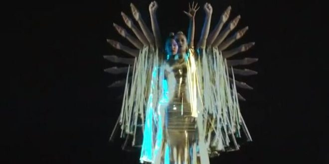 Watch: Beyonce Delivers Impressive CGI Visual Performance at TIDAL X 1015 Concert