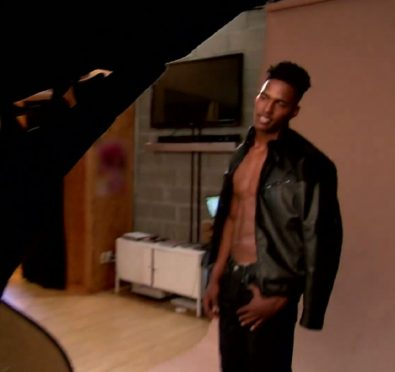 Watch: Kairo Whitfield Slightly Strips Down For His First Professional Photo Shoot In 'RHOA' Sneak Peek [Video]