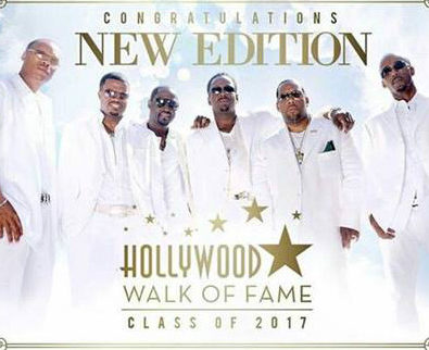 Been Here For It: New Edition To Receive Star on Hollywood Walk of Fame January 2017 Ahead of NE Movie Miniseries on BET
