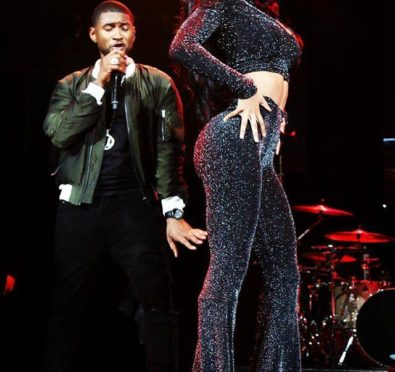 "Watch: Teyana Taylor Gives Usher a Run For His Money, Slays Crowd During ""Bad Girl"" Performance"