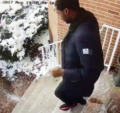 "Meek Mill Takes Yet Another ""L"", Slips & Busts His Ass On Icy Stairs, Caught on Surveillance Footage [Video]"