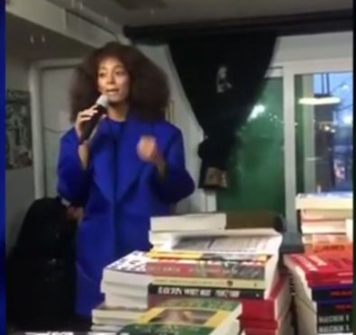 So Here For It: Solange Surprises Fans During DC Visit, Purchases Books For Howard University Students at Black Owned Bookstore [Video]