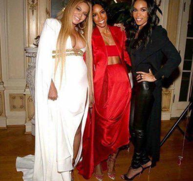 Hot Shots: Destiny's Child Reunite, Party it Up at Solange's Grammy After Party