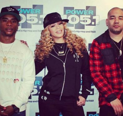 Faith Evans Reveals Her Biopic Is On The Way, Dishes on Relationships with Lil Kim, Alleged Mary J. Blige Feud, Notorious B.I.G. & Tupac at 'The Breakfast Club' [Video]