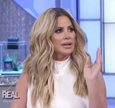 Watch: Kim Zolciak Throws Slight Shade To Some of The 'RHOA' Ladies, Talks Why Producers Wanted Her Back For Season 10 at 'The Real'