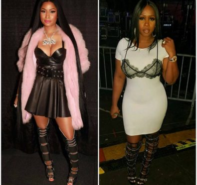 Remy Ma & Nicki Minaj Feud Intensifies After Atlanta's Hot 107.9 Performance Where Both Ladies Attended, Took Shots+Remy Clowns Nicki For Having Security Put In Place To Avoid Them Crossing Paths [Video]