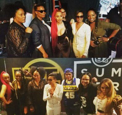 Summer Jam 2017: Remy Ma Disses Nicki Minaj, Brings Lil Kim, Queen Latifah On Stage+Female MC's Unite Backstage