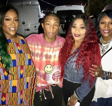 Watch: SWV Honors Pharrell Williams at Roots Picnic In Philly, Performs 'Use Your Heart'