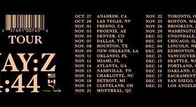 Jay-Z Announces '4:44' North American Tour, Pre-Sale Kicks Off Today