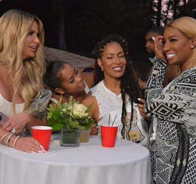 Hot Shots: Lisa Wu Parties It Up with 'The Real Housewives of Atlanta' at Nene Leakes All White Event