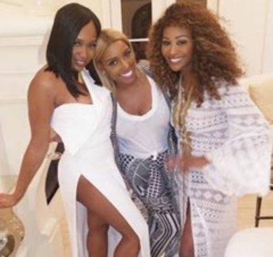Nene Leakes & Marlo Hampton Reconcile at Nene's 'Girls & Gays' Party+Kim Zolciak's Daughter Slams Kenya Moore [Photos]