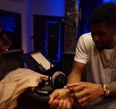 Usher Hits Studio, Teases 'Confessions' Sequel with Jermaine Dupri, Rico Love, & Bryan-Michael Cox [Photos/Video]