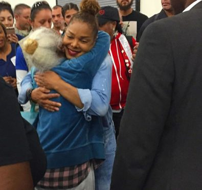 Janet Jackson Visits Families Displaced From Hurricane Harvey at Houston Convention Center+Donates ALL Proceeds From Houston Show To Victims [Video]