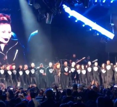 Must See: Janet Jackson Reunites with Tina Landan & Past Tour Dancers For EPIC 'Rhythm Nation' Performance at Sold Out 'SOTW' Show in LA [Video]